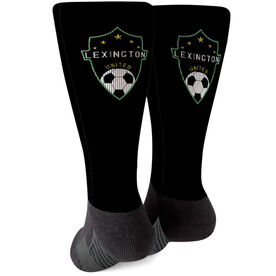 Soccer Printed Mid-Calf Socks - Your Logo