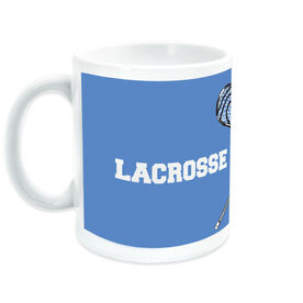 Guys Lacrosse Coffee Mug Dad