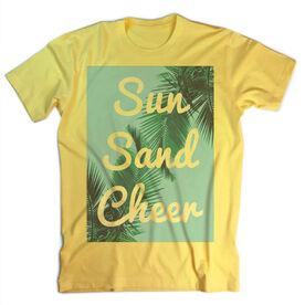 Vintage Cheerleading T-Shirt - Sun Sand Cheer