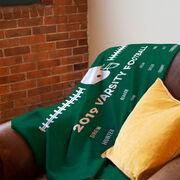 Football Premium Blanket - Team Roster