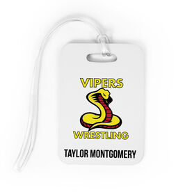 Wrestling Bag/Luggage Tag - Custom Logo