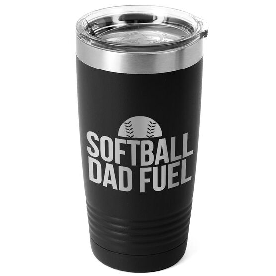 Softball 20oz. Double Insulated Tumbler - Softball Dad Fuel