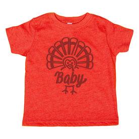 Youth Short Sleeve T-Shirt - Baby Turkey