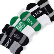 Socrates® Woven Performance Sock Set - Thanks Coach