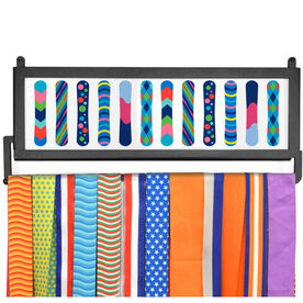 AthletesWALL Medal Display - Snowboards Colorful