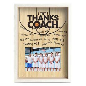 Basketball Premier Frame - Thanks Coach