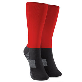 Guys Lacrosse Printed Mid-Calf Socks - Goalie