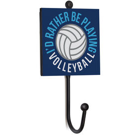 Volleyball Medal Hook - I'd Rather Be Playing Volleyball