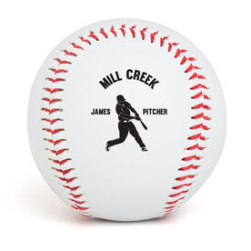 Personalized Baseball - Player with Team Name