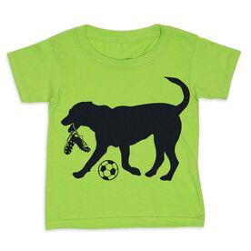 Soccer Toddler Short Sleeve Tee - Spot The Soccer Dog