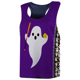 Softball Racerback Pinnie - Ghost