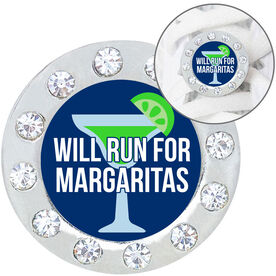 Running Shoelace Charm - Will Run For Margaritas