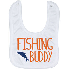 Fly Fishing Baby Bib - Fishing Buddy