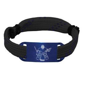 Hockey Lace Bracelet Goalie Adjustable Wrister Bracelet