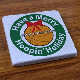 Basketball Holiday - Stone Coaster