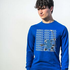 Hockey Tshirt Long Sleeve - Dangle Snipe Celly Player