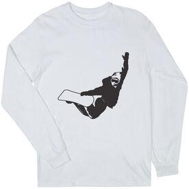 Snowboarding Tshirt Long Sleeve High Altitude