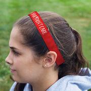 Cheerleading Juliband No-Slip Headband - Cheer Hair Don't Care