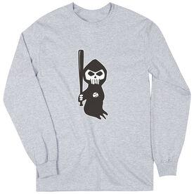 Baseball Long Sleeve Tee - Baseball Reaper