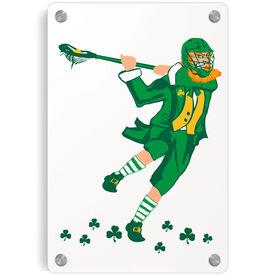 Guys Lacrosse Metal Wall Art Panel - St. Hat-Tricks