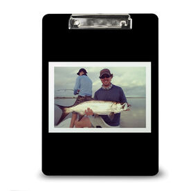Fly Fishing Custom Clipboard Fly Fishing Your Photo Solid Background