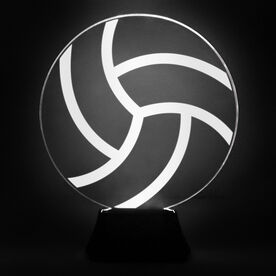 Volleyball Acrylic LED Lamp Volleyball