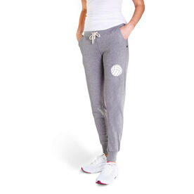 Volleyball Women's Joggers - Volleyball Icon