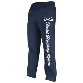 Field Hockey Fleece Sweatpants Field Hockey Mom With Sticks