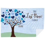 Personalized Premium Blanket - Family Tree