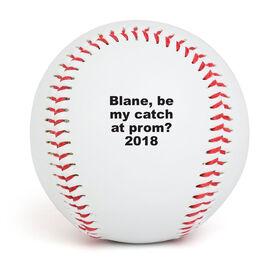 Custom Message Baseball