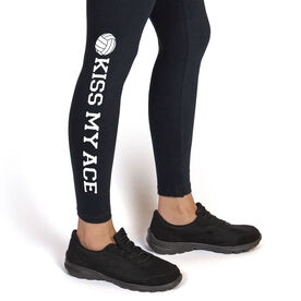 Volleyball Leggings Kiss My Ace