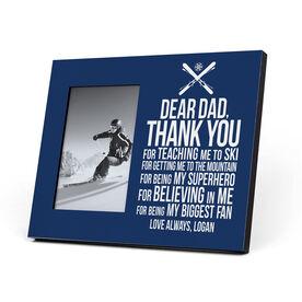 Skiing Photo Frame - Dear Dad