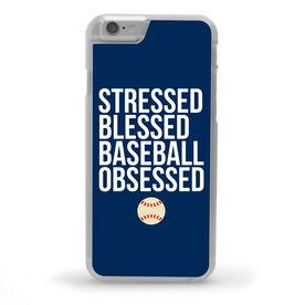 Baseball iPhone® Case - Stressed Blessed Baseball Obsessed