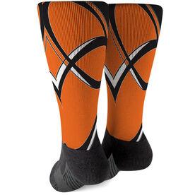 Rugby Printed Mid-Calf Socks - Superior