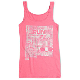 Women's Athletic Tank Top New Mexico State Runner