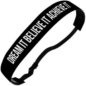 Athletic Julibands No-Slip Headbands - Personalized Solid