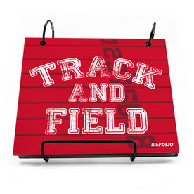 BibFOLIO® Race Bib Album - Track and Field