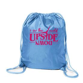 Cheerleading Sport Pack Cinch Sack - Upside Down