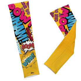 Printed Arm Sleeves Comic Strip Sleeves