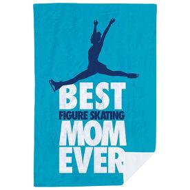 Figure Skating Premium Blanket - Best Mom Ever