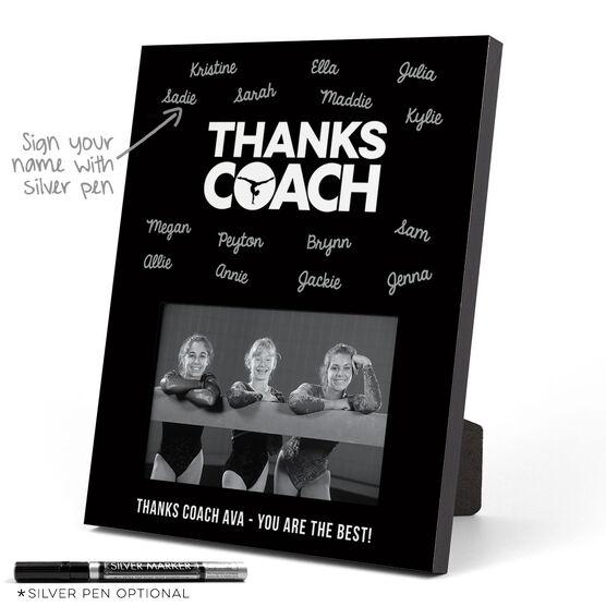 Gymnastics Photo Frame - Coach (Autograph)