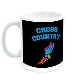 Cross Country Coffee Mug Winged Foot