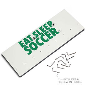 Soccer Hooked on Medals Hanger - Eat Sleep Soccer