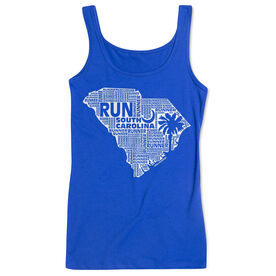 Women's Athletic Tank Top South Carolina State Runner