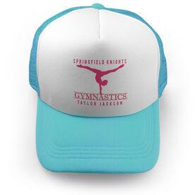 Gymnastics Trucker Hat - Personalized Crest