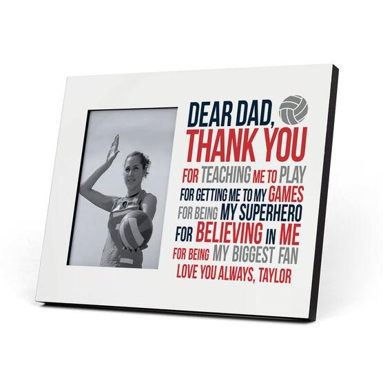 Volleyball Photo Frame - Dear Dad