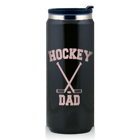 Stainless Steel Travel Mug Hockey Dad