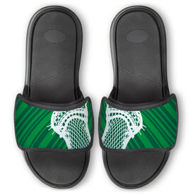 Guys Lacrosse Repwell® Slide Sandals - Stick Reflected