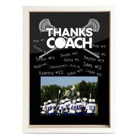 Guys Lacrosse Premier Frame - Thanks Coach