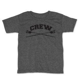 Crew Toddler Short Sleeve Tee - Crew Crossed Oars Banner